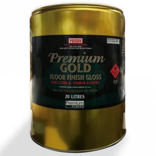 Premium Gold Floor Finish (Gloss) 20L